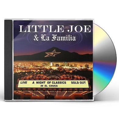 little joe CLASSIC NIGHT IN EL CHUCO CD