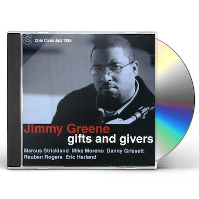 Jimmy Greene GIFTS & GIVERS CD