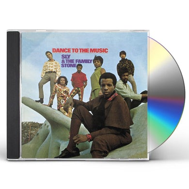 Sly & The Family Stone DANCE TO THE MUSIC CD