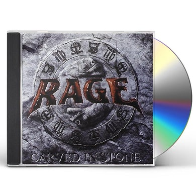 Rage CARVED IN STONE CD
