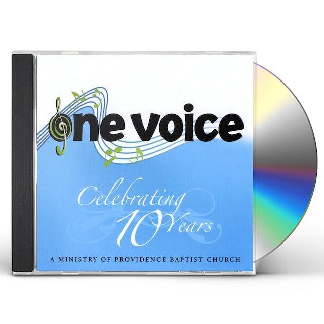 One Voice CELEBRATING TEN YEARS CD