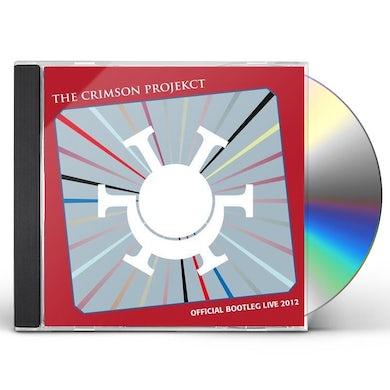 Crimson Projekct OFFICIAL BOOTLEG LIVE 2012 CD