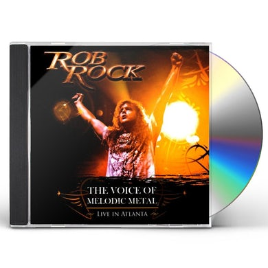 Rob Rock VOICE OF MELODIC METAL CD
