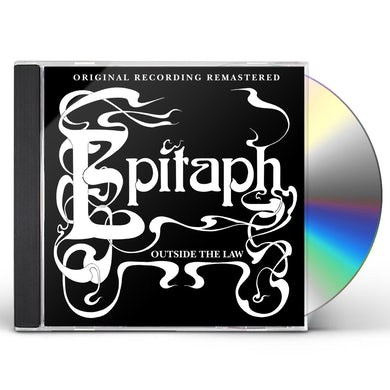 Epitaph OUTSIDE THE LAW CD