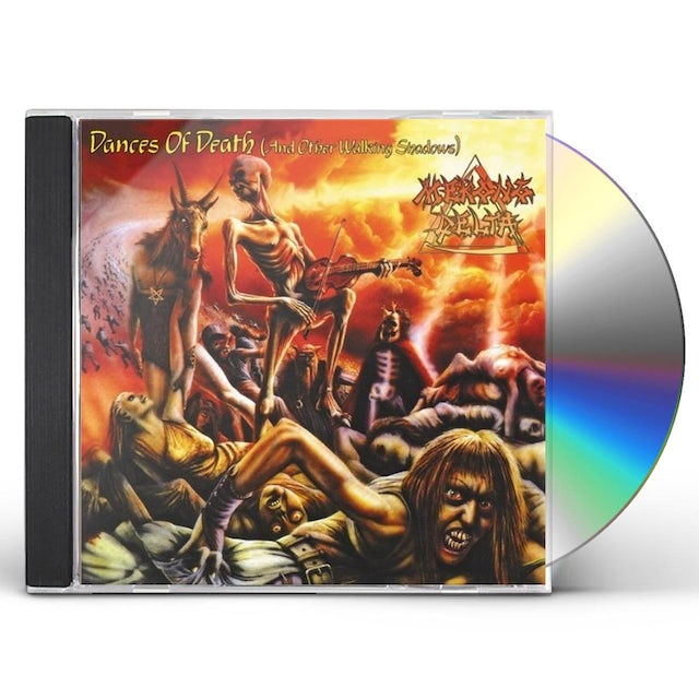 Mekong Delta DANCES OF DEATH (AND OTHER WALKING SHADOWS) CD