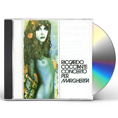 Riccardo Cocciante CONCERTO PER MARGHERITA CD