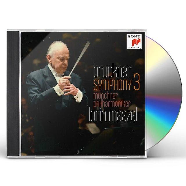 Lorin Maazel BRUCKNER: SYMPHONY NO. 3 CD