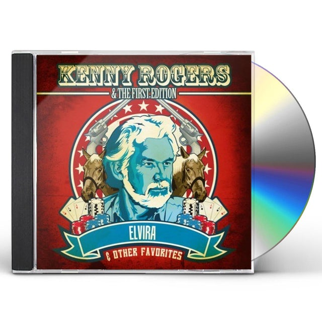 Kenny Rogers & The First Edition ELVIRA & OTHER FAVORITES CD
