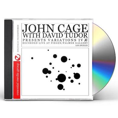 John Cage VARIATIONS IV CD