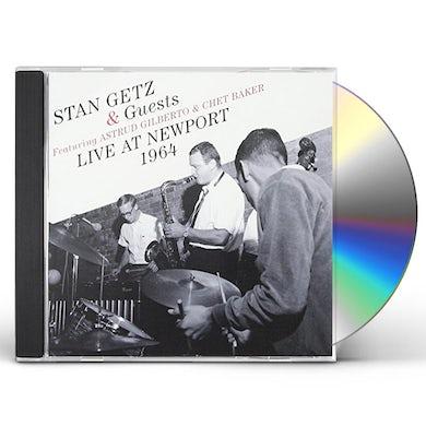 Stan Getz & GUESTS: LIVE AT NEWPORT 1964 CD
