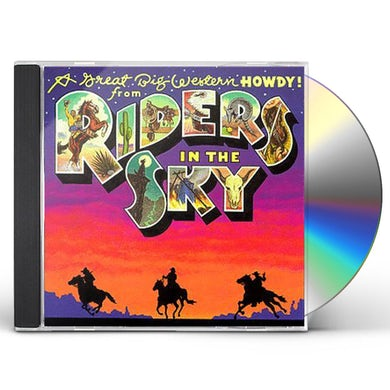 GREAT BIG WESTERN HOWDY FROM RIDERS IN THE SKY CD