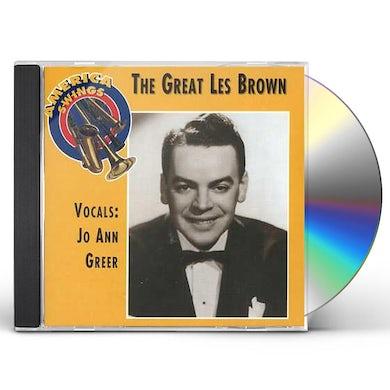 GREAT LES BROWN CD