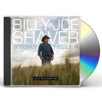 Billy Joe Shaver STORYTELLER: LIVE AT THE BLUEBIRD CD