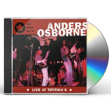 Anders Osborne LIVE AT TIPITINA'S CD