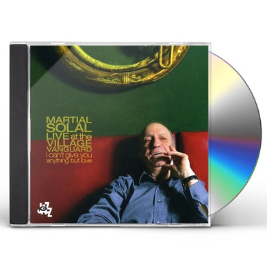 Martial Solal LIVE AT THE VILLAGE VANGUARD CD