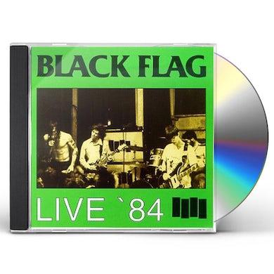 Black Flag LIVE 84 CD