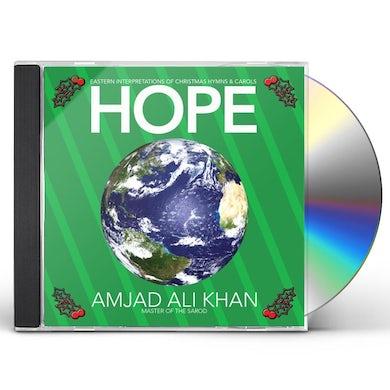 Amjad Ali Khan HOPE: EASTERN INTERPRETATIONS OF XMAS HYMNS & CD