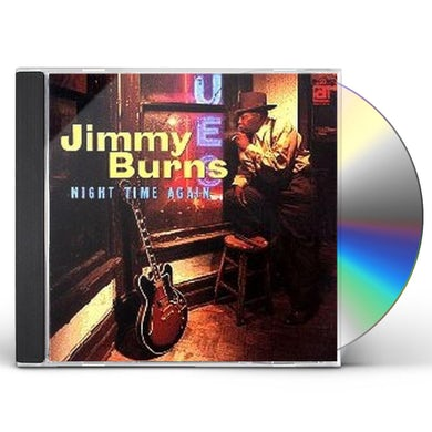 Jimmy Burns NIGHT TIME AGAIN CD