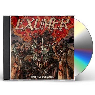 Exumer HOSTILE DEFIANCE CD