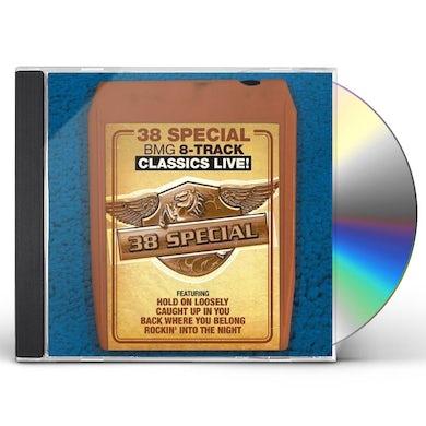 38 Special BMG 8-Track Classics Live! CD