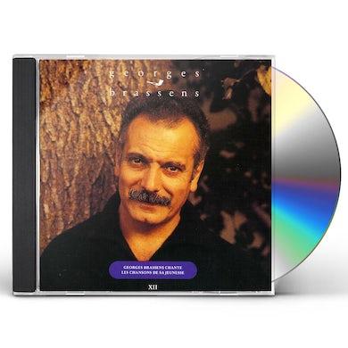 Georges Brassens CHANTE LES CHANSONS DE SA JEUNESSE CD