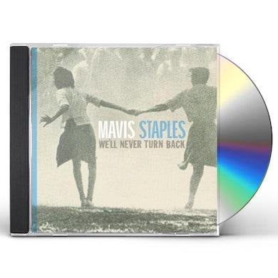 Mavis Staples We'll Never Turn Back CD