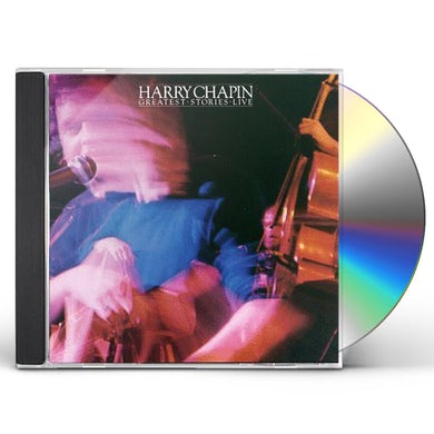 Harry Chapin GREATEST STORIES LIVE CD