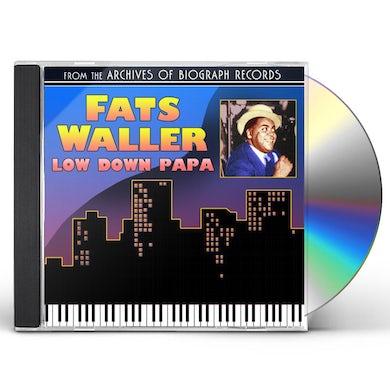 Fats Waller LOW DOWN PAPA CD