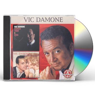 Vic Damone CLOSER THAN A KISS: THIS GAME OF LOVE CD