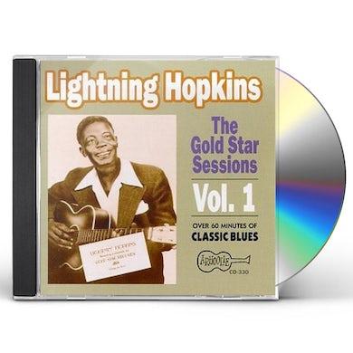 Lightnin Hopkins THE GOLD STAR SESSIONS - VOL. 1 CD