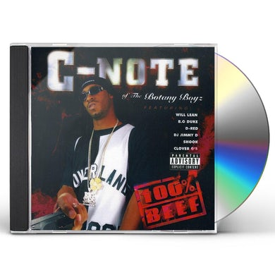 C-Note 100 PERCENT BEEF CD