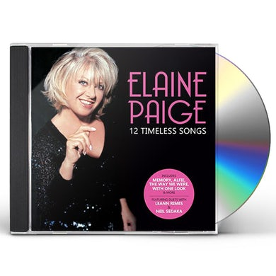 Elaine Paige 12 TIMELESS SONGS CD