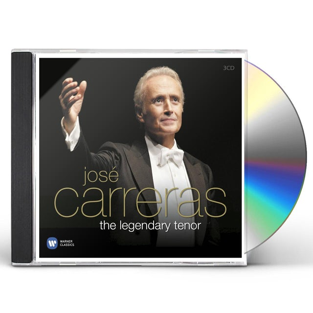 Jose Carreras LEGENDARY TENOR CD