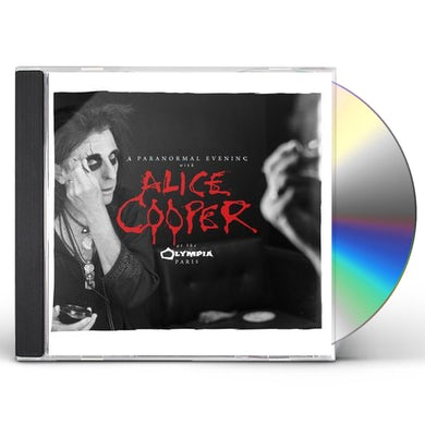 Alice Cooper PARANORMAL EVENING AT THE OLYMPIA PARIS CD