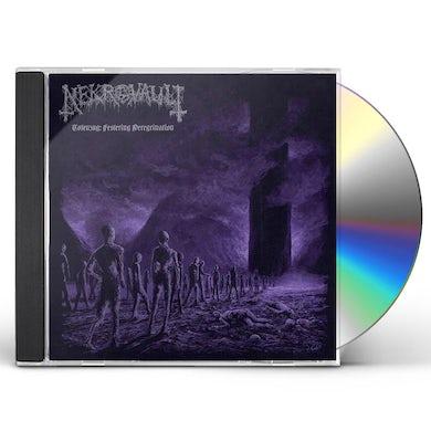 Nekrovault TOTENZUG: FESTERING PEREGRINATION CD