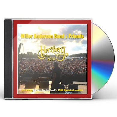 Miller Anderson Band & Friends LIVE AT HERZBERG FESTIVAL CD