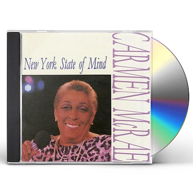 Carmen McRae NEW YORK STATE OF MIND CD