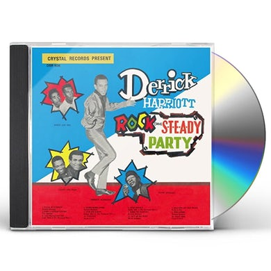 Derrick Harriott ROCK STEADY PARTY CD
