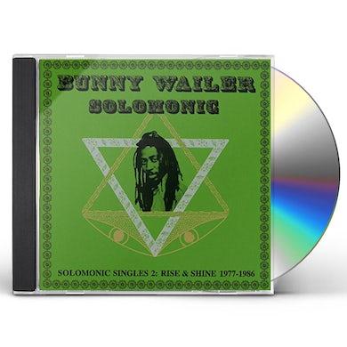Bunny Wailer SOLOMONIC SINGLES 2: RISE & SHINE 1977-1986 CD