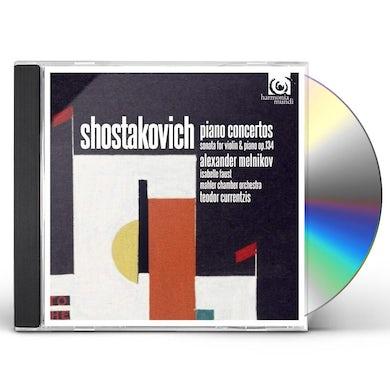 SHOSTAKOVICH: PIANO CONCERTOS 1 & 2 CD