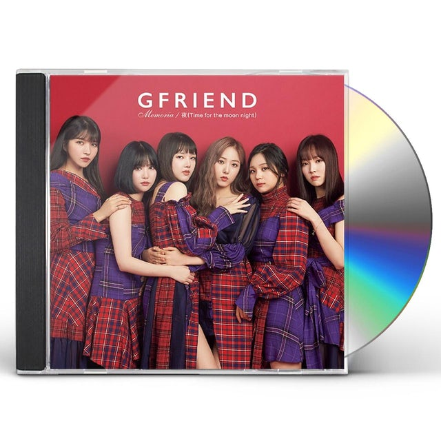 GFRIEND MEMORIA / YORU (TIME FOR THE MOON NIGHT) (VER A) CD