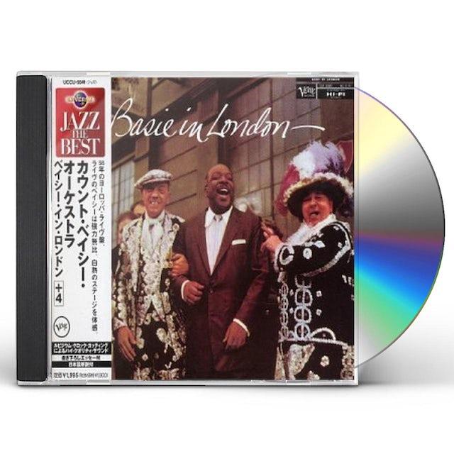 Count Basie IN LONDON+4 CD