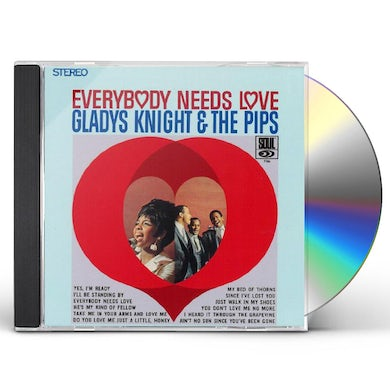 Gladys Knight & The Pips EVERYBODY NEEDS LOVE CD