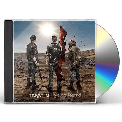 Magenta WE ARE LEGEND CD
