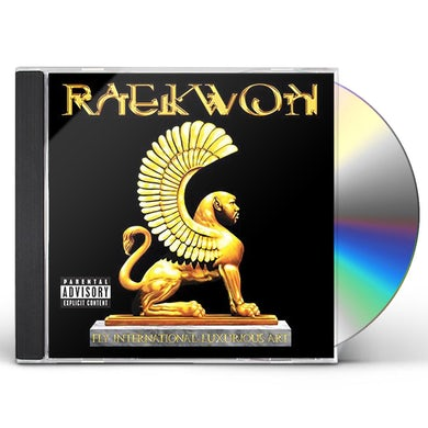 Raekwon FLY. INTERNATIONAL. LUXURIOUS. ART. CD