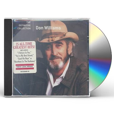 Don Williams DEFINITIVE COLLECTION CD