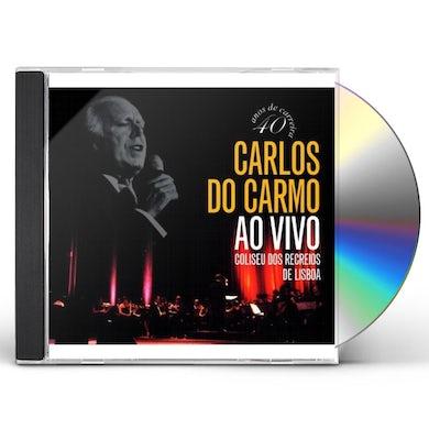 Carlos do Carmo AO VIVO: COLISEU DOS RECREIOS CD
