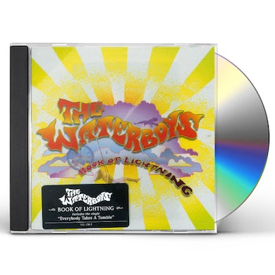 The Waterboys BOOK OF LIGHTNING CD