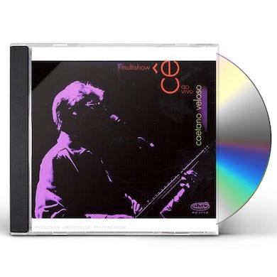 Caetano Veloso MULTISHOW AO VIVO CD