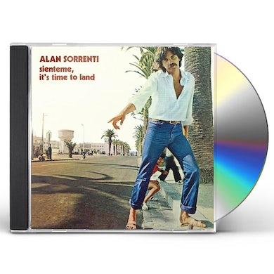 Alan Sorrenti SIENTEME IT'S TIME TO LAND CD